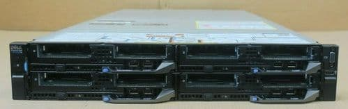 Dell PowerEdge FX2S Switched Rackmount Chassis + 4x FC630 Blade Node CTO Servers